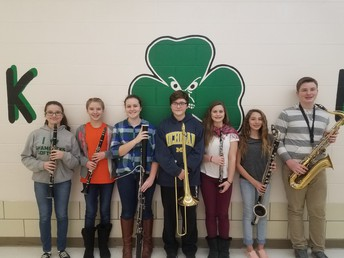 Middle School Solo & Ensemble participants