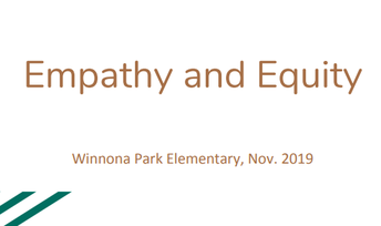 Board Equity Spotlight:  Winonna Park Empathy