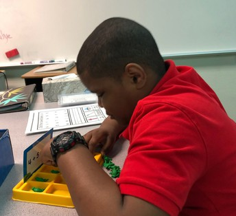 Morning Math takes concentration!