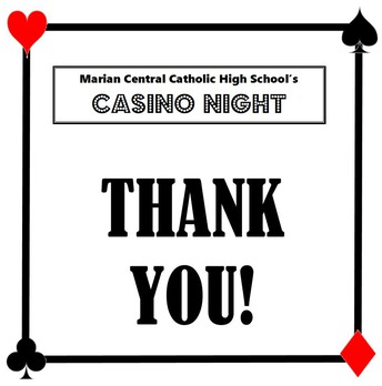 THANK YOU for supporting MARIAN CENTRAL at our AUCTION!