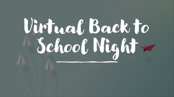 Back to School Night - Virtual Style