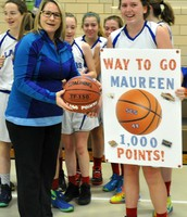 Congrats Maureen Stapleton!  1000 Points!