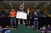Two time State Champion Timmy Woo at 160 pounds!