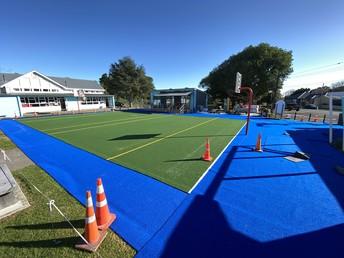 New multi-sport turf at Senior school
