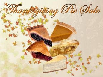 PTO Thanksgiving Pie Sale