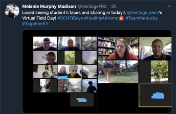 Heritage Elementary's Virtual Field Day!
