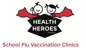 Health Heroes Flu Clinic ~ Wednesday, November 7, 2018