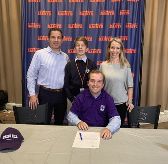 Collin Darby Signs with Spring Hill College