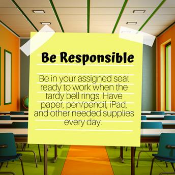 Be Responosible