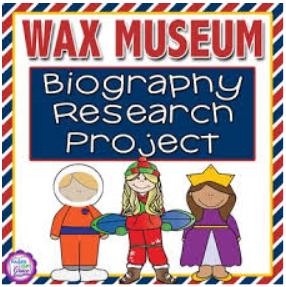 3rd Grade Wax Museum
