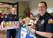Santa Cops Toy Drive