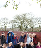 Year 1 have been on a spring walk!