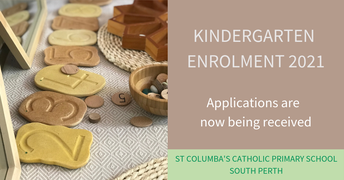 Kindergarten Enrolment 2021 - Close 29 March