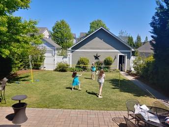 Badminton - Ms. Maureen's family