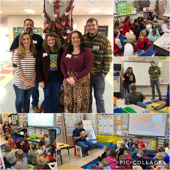 Rotary Club reads to 1st grade!