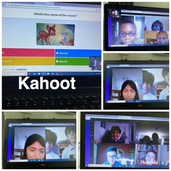 Mrs. Haynes at Windmill Point Elementary hosted a Disney Kahoot game with her students.