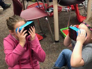 Virtual Reality field trips.....