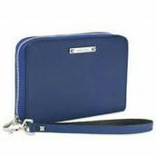 Chelsea Tech Wallet - Cobalt