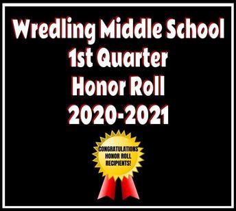 1st Quarter Honor Roll