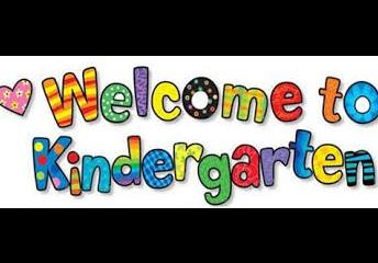 Welcome Kindergarten Students