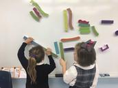 Kindergarten Engineers at work in their MakerSpace