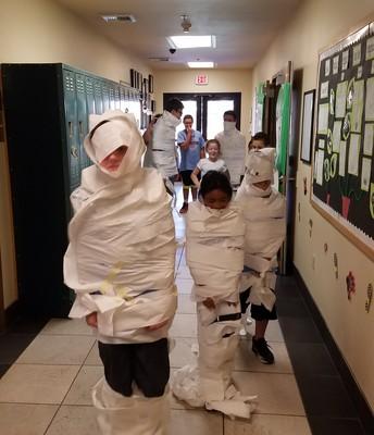 Mummy Race