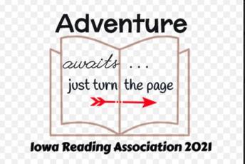 Our virtual Iowa Reading Association Leadership Training