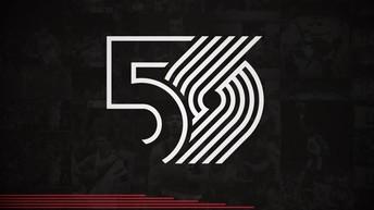 Blazers 50th Anniversary