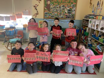 1st Grade Celebrates Valentine's Day