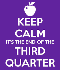 3rd Quarter Ends this Wednesday!