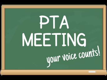PTA Meeting - February 24