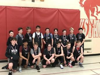 Grade 8 Boys Basketball