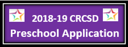 Applying for Preschool for the 2019-2020 school year  is ONLINE and is as easy as 1, 2, 3!