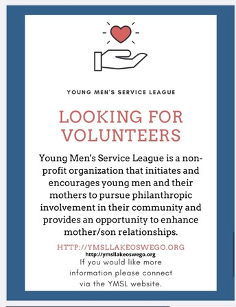 Young Men's Service League New Member Meeting