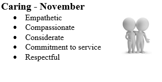 Barry Goldwater is an International Baccalaureate (IB) school.  As such we aspire to fulfill the traits embodied in the Learner Profile. Each month we will highlight and celebrate one of these traits.
