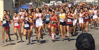 Girls Cross Country places 6th of 16 times at Mt Sac