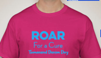Deadline to Order Tamanend Pink Out Shirts for American Cancer Society Denim Day is Wednesday, September 11