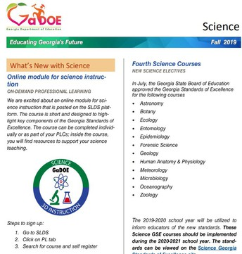 DOE Science Newsletter