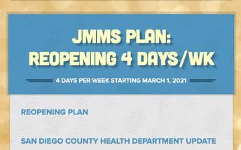 4 Day a Week Reopening Plan