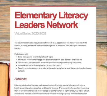 Elementary Literacy Leaders Network