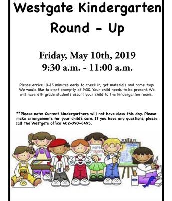 Kindergarten Round - Up