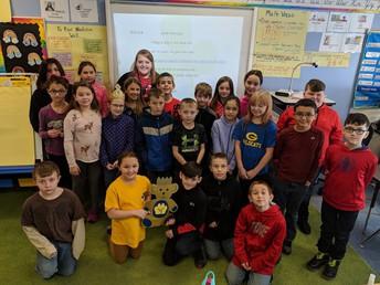 4th Grade:  Ms. Finnegan's Class