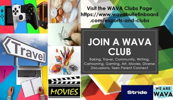 Be sure to join a Club at WAVA!