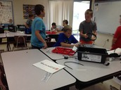 Robotics in Mr. Bacon's class