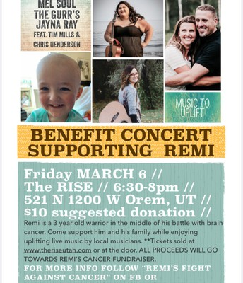 Benefit Concert for Remi!