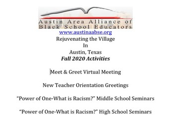 Austin AABSE Fall Activities