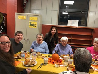 Senior Citizens Dinner at Walpole High School