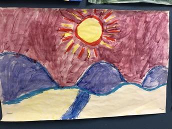 Pastel/Paint Mountains