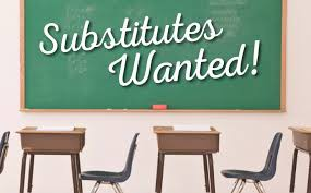 Have you ever thought of being a substitute teacher?  If so, we NEED you!