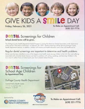 Dental Screenings for D93 Students